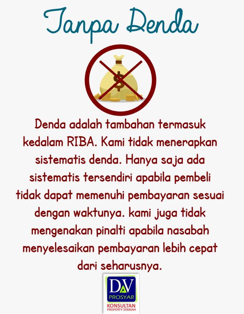 perumahan syariah 7 tanpa denda