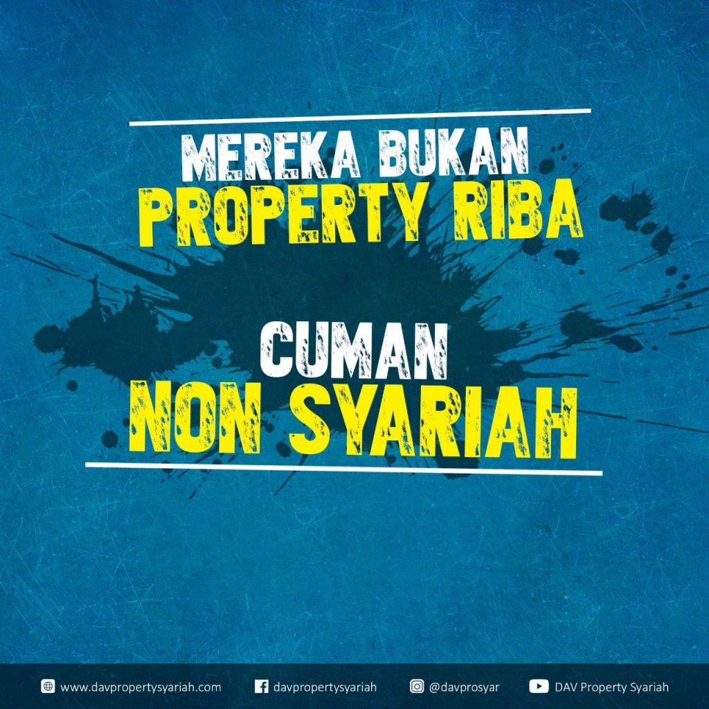 Gak Mau Disebut Property RIBA, Tapi Hanya Non-Syariah