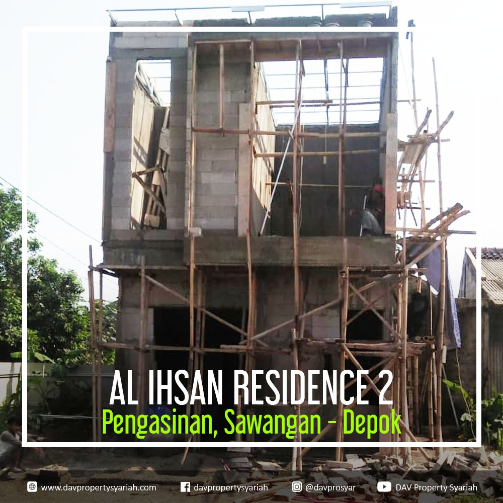 perumahan syariah di sawangan kota depok al ihsan 2 progress 19