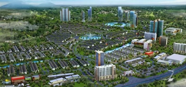 perumahan syariah jabodetabek - background landscape kawasan cikarang - investasi - davpropertysyariah